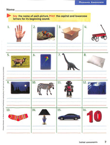 Phonics Level B Workbook