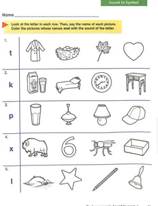Phonics Level C Workbook