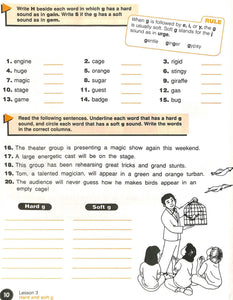 Phonics Level D Workbook