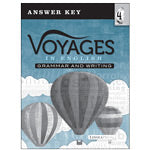 Voyages in English 4 Practice & Assessment Book Answer Key