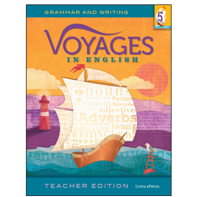 Voyages in English 5 Teacher Edition 2018