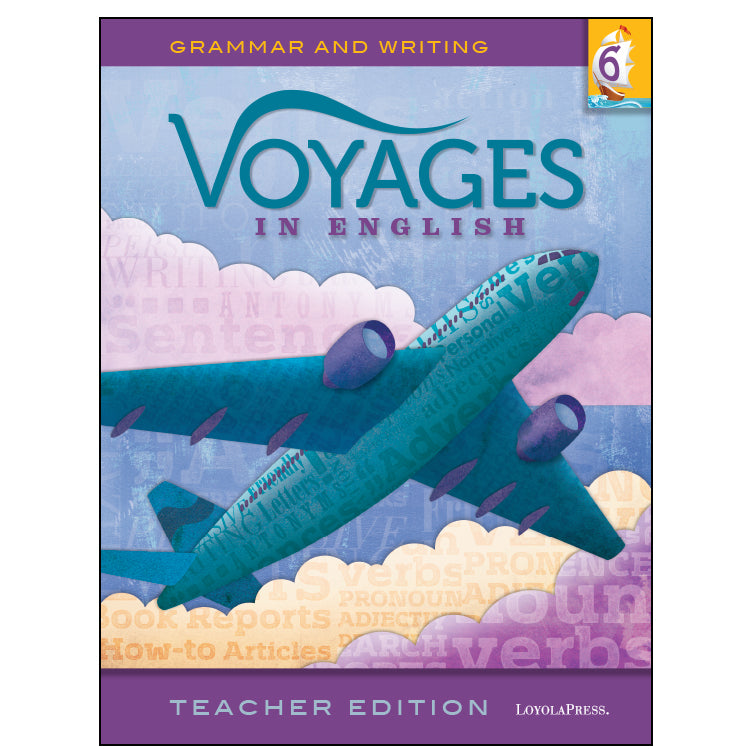 Voyages in English 6 Teacher Edition 2018
