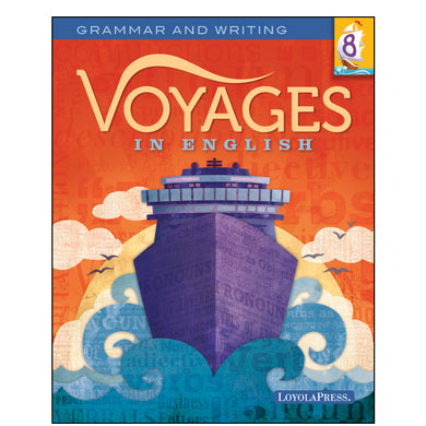 Voyages in English 8 Student Edition 2018
