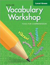 Load image into Gallery viewer, Sadlier Vocabulary Tools for Comprehension Level Green