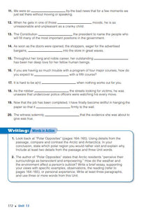 Vocabulary Workshop Level A Workbook