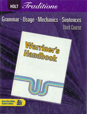 Warriner's Handbook Third Course