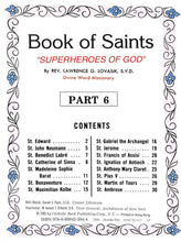 Load image into Gallery viewer, Book of Saints 6