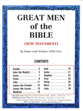 Load image into Gallery viewer, Great Men of the New Testament