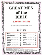 Load image into Gallery viewer, Great Men of the Old Testament