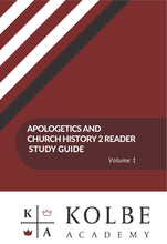 Load image into Gallery viewer, Church History II & Apologetics Study Guides
