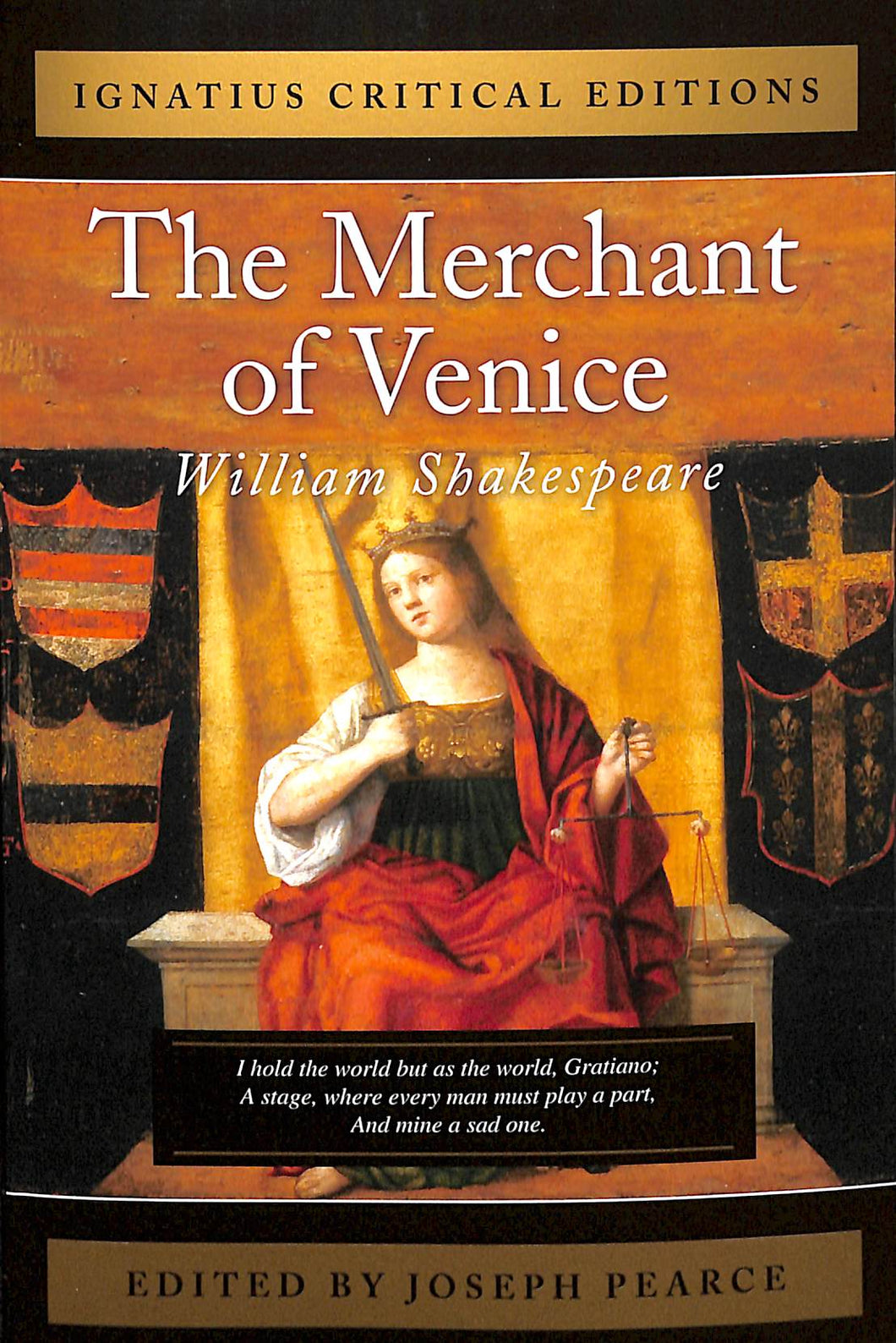 Merchant Of Venice: Ignatius Critical Edition