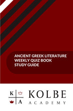 Load image into Gallery viewer, Ancient Greek Literature Quiz Book