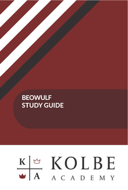 Beowulf Study Guide Set- Digital Delivery Only