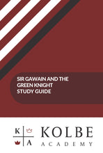 Load image into Gallery viewer, Sir Gawain and the Green Knight Study Guide