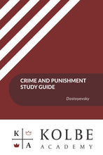 Load image into Gallery viewer, Crime and Punishment Study Guides