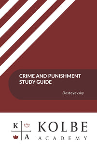 Crime and Punishment Study Guides