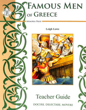 Load image into Gallery viewer, Famous Men Of Greece Teacher Guide