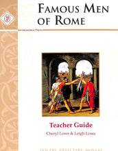 Load image into Gallery viewer, Famous Men Of Rome Teacher Guide