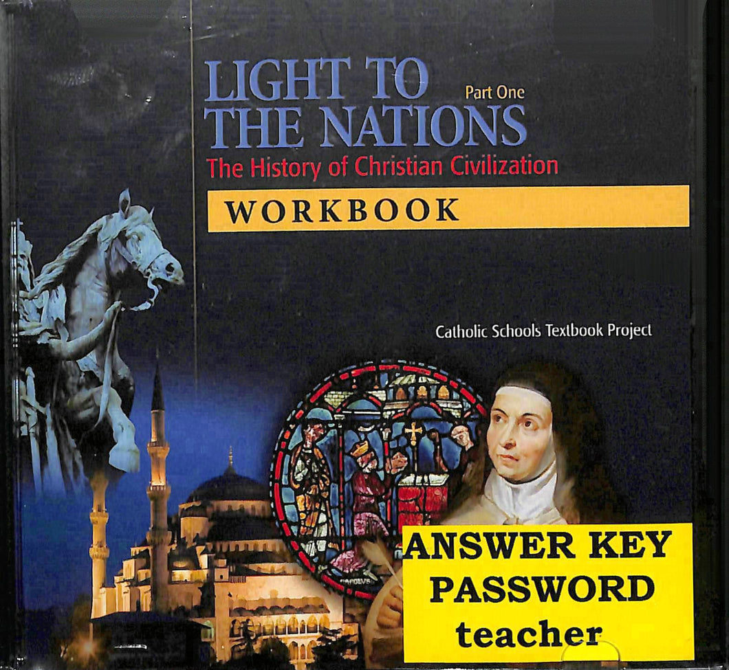 Light To The Nations: Part One Workbook CD