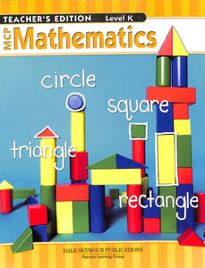 MCP Math K Teacher Manual
