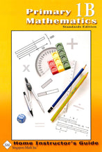 Load image into Gallery viewer, Primary Mathematics Home Instructor Guide 1B