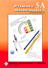 Load image into Gallery viewer, Primary Mathematics Home Instructor Guide 5A