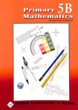 Load image into Gallery viewer, Primary Mathematics Home Instructor's Guide 5B