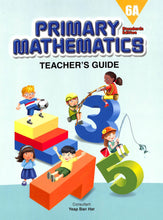 Load image into Gallery viewer, Primary Mathematics Teacher Guide 6A