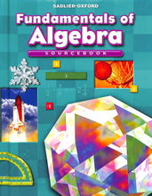 Load image into Gallery viewer, Fundamentals of Algebra Textbook