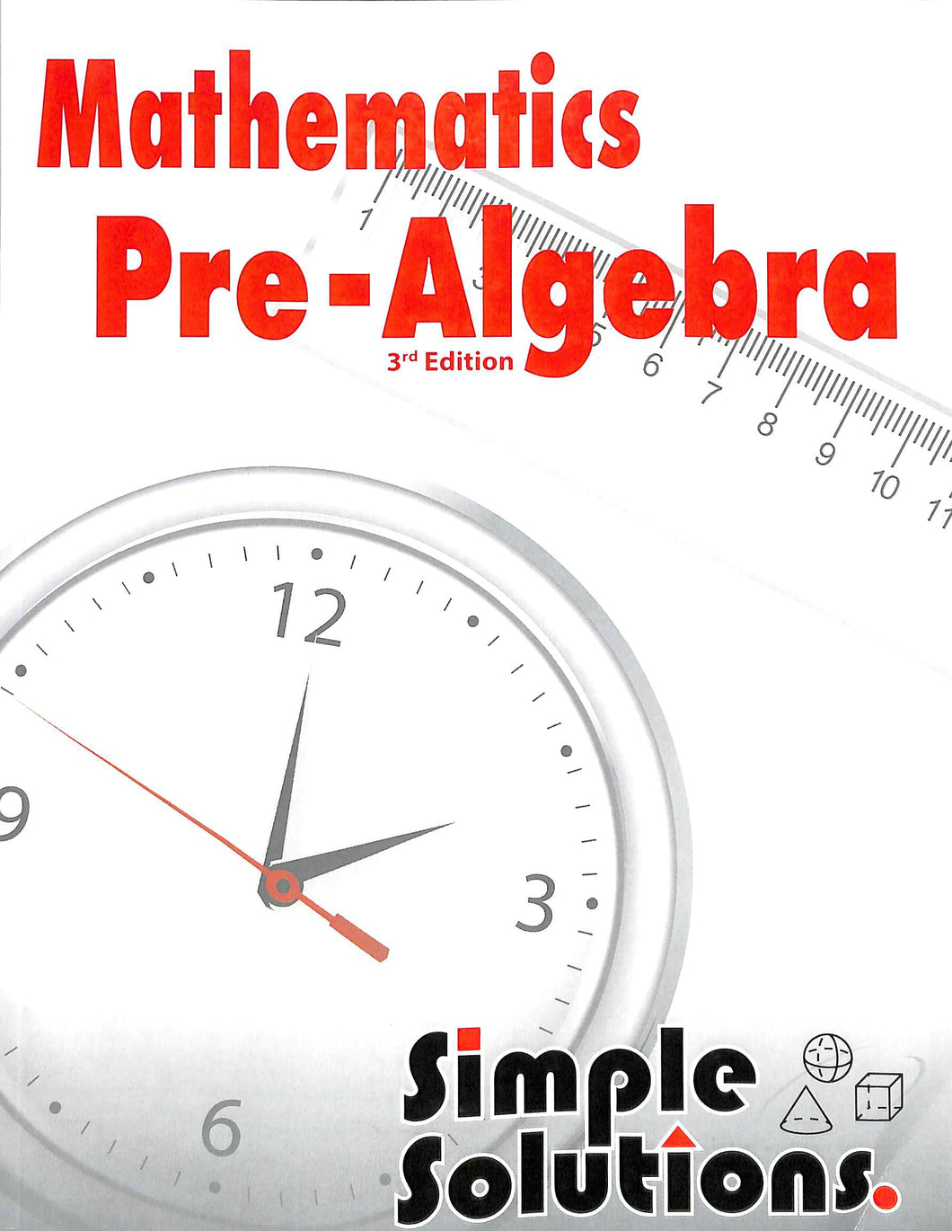 Simple Solutions Pre-Algebra Workbook