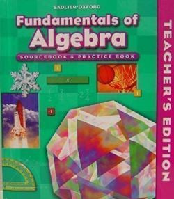 Fundamental of Algebra Teacher Manual