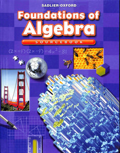 Foundations of Algebra - Two Book Set Includes Practice Workbook