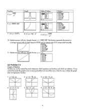 Load image into Gallery viewer, Graphing Calculator Lab Manual Teacher Manual