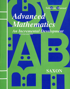 Advanced Math Solutions Manual