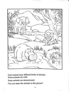 Science and Living in God's World Kindergarten Workbook