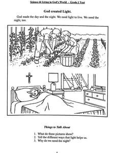 Science and Living in God's World 1 Workbook