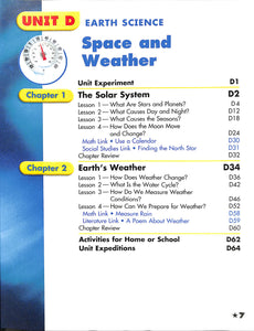 Harcourt Science Grades 1/2 Textbook- Used