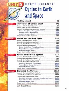 Harcourt Science Grades 5/6 Textbook