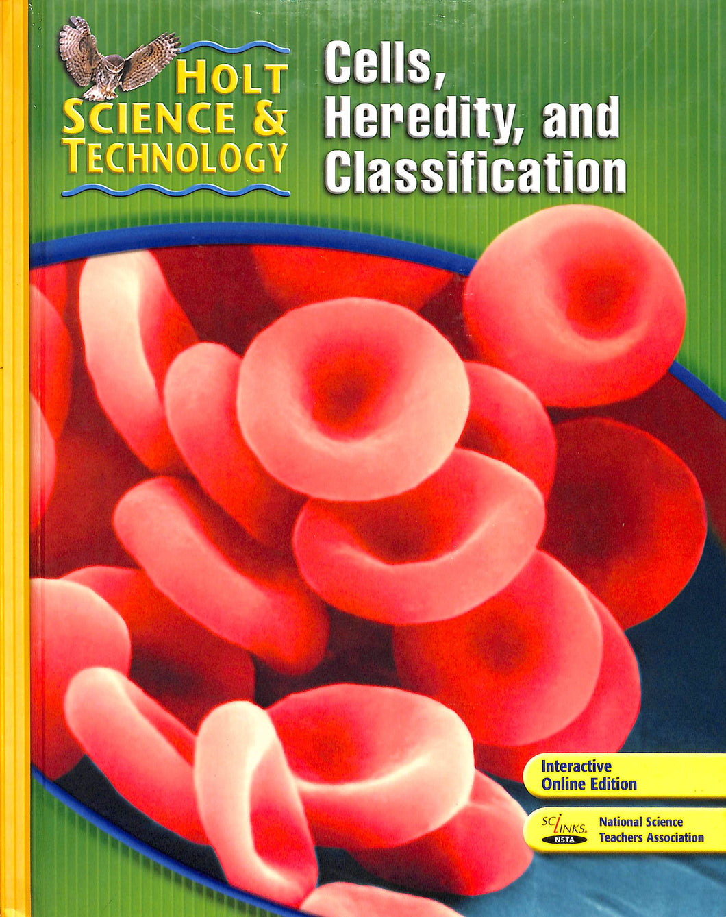 Holt Life Science Short Course C Textbook - Gently Used