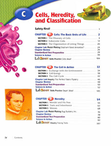 Holt Life Science Short Course C Textbook- Used