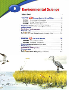 Holt Life Science Short Course E Textbook- Used