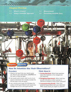 Prentice Hall Physical Science Textbook