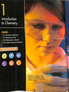 Pearson Chemistry Textbook