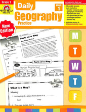 Load image into Gallery viewer, Evan-moor Daily Geography Practice 1 Teacher Manual