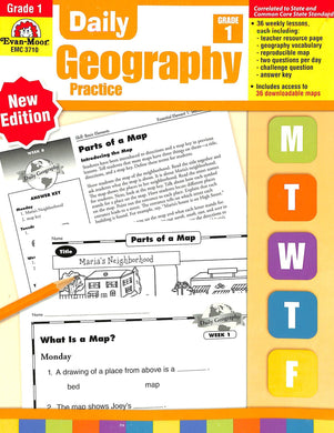 Evan-moor Daily Geography Practice 1 Teacher Manual