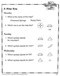Daily Geography Practice 1 Workbook