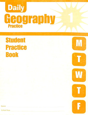 Evan-moor Daily Geography Practice 1 Workbook