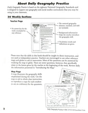 Load image into Gallery viewer, Daily Geography Practice 1 Teacher Manual