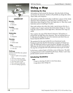 Daily Geography Practice 1 Teacher Manual