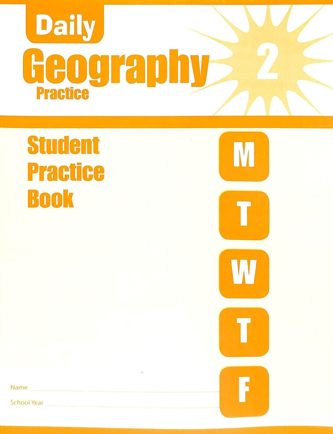 Evan-moor Daily Geography Practice 2 Workbook